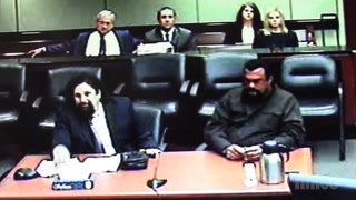Steven Seagal Appears in Court