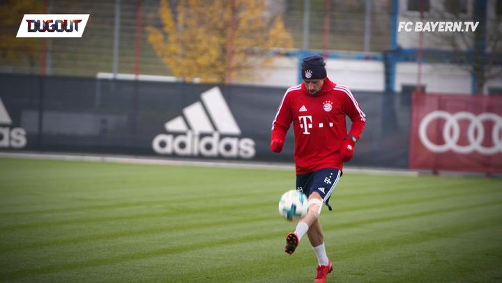 Ribéry Shows Off Skills in Training!