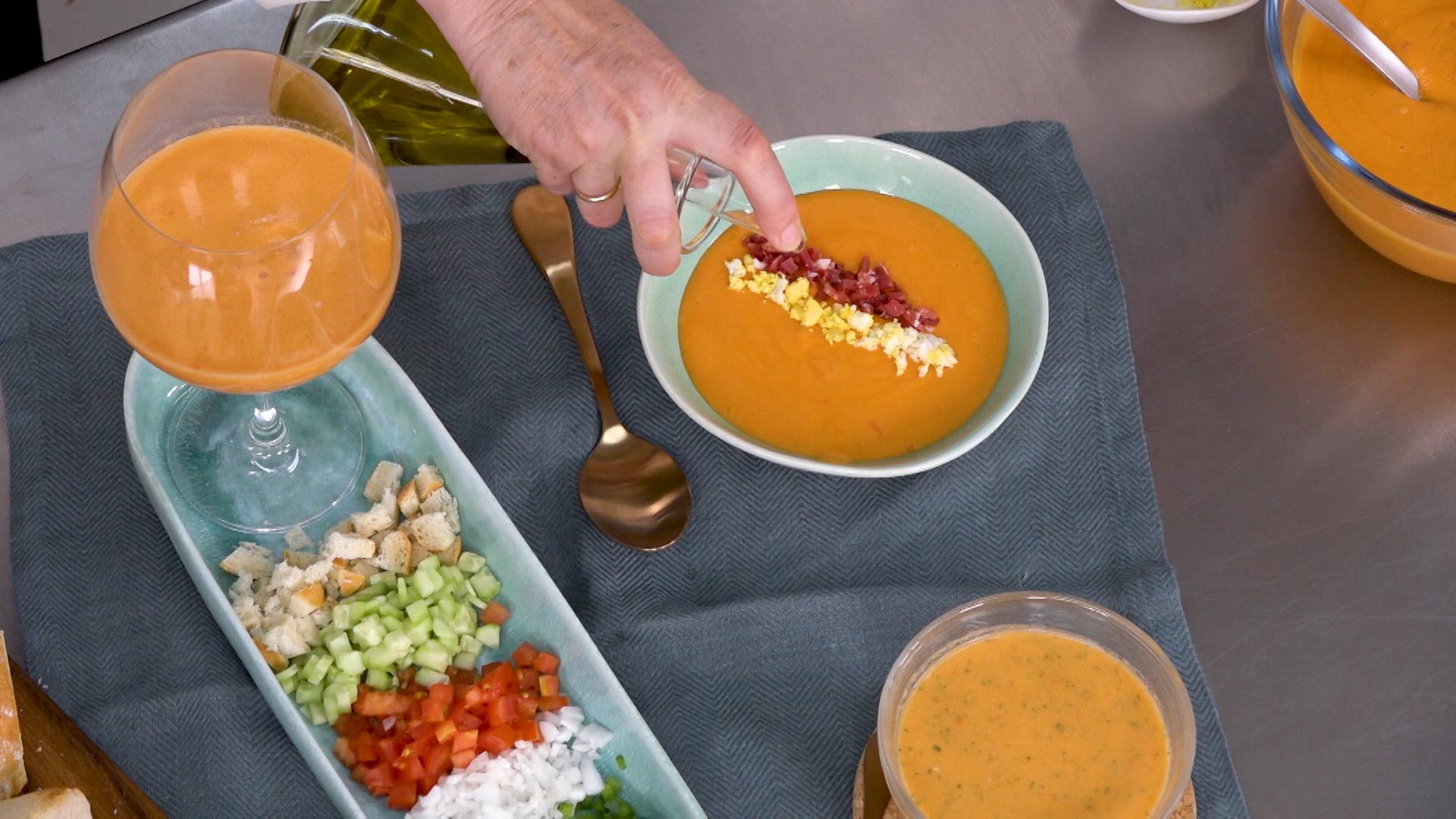 Gazpacho y salmorejo, las mejores recetas para el verano
