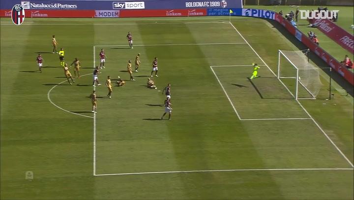 Federico Santander's fine strike vs Udinese