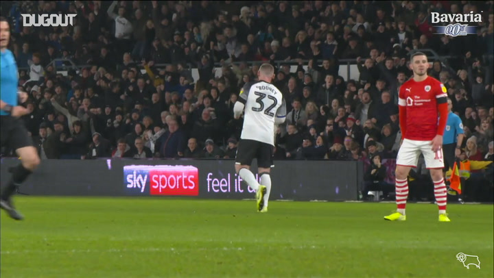 Wayne Rooney assists on Derby County debut