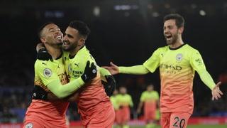 Manchester City gana en Leicester y da gran paso hacia subcampeonato