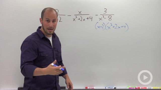 Adding and Subtracting Rational Expressions - Problem 2