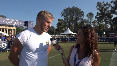 Cooper Kupp On Being 1st time Dad & Impact Of Brandin Cooks