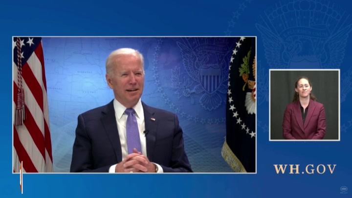 Joe Biden Omits
