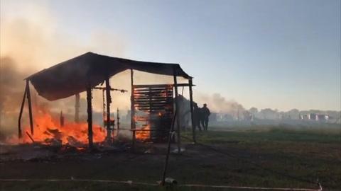 Violento desalojo en tierras tomadas de Argentina