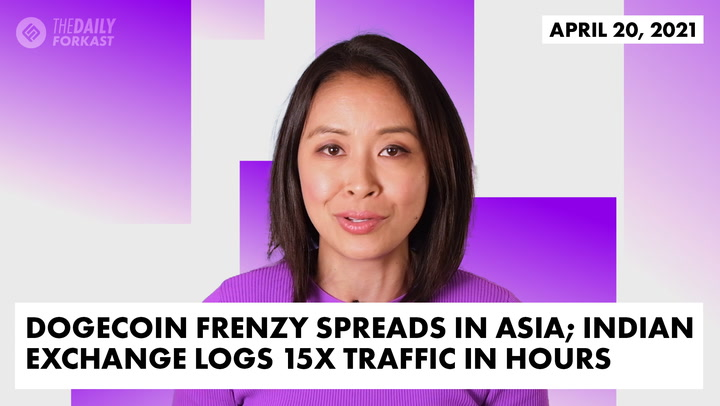 Dogecoin Frenzy Spreads in Asia; Indian Exchange Logs 15x Traffic