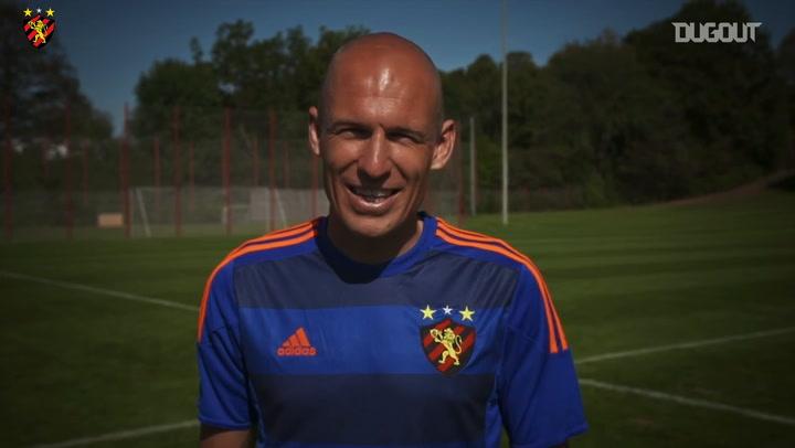 When Arjen Robben wore Sport Recife's jersey