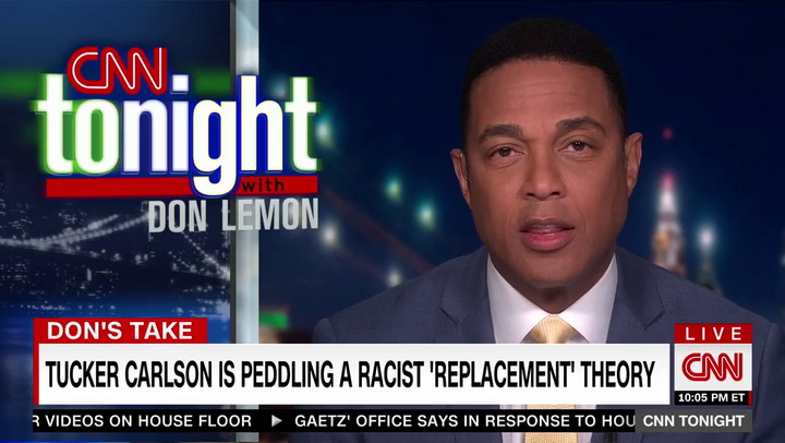 CNN's Lemon: FNC's Tucker Carlson Is Mainstreaming 'White Supremacist Propaganda to your Neighbors'