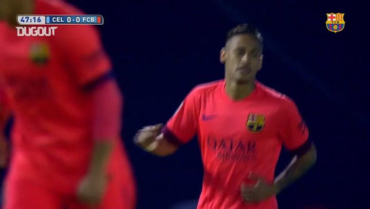 Jeremy Mathieu'nun Celta Vigo'ya Attığı Gol