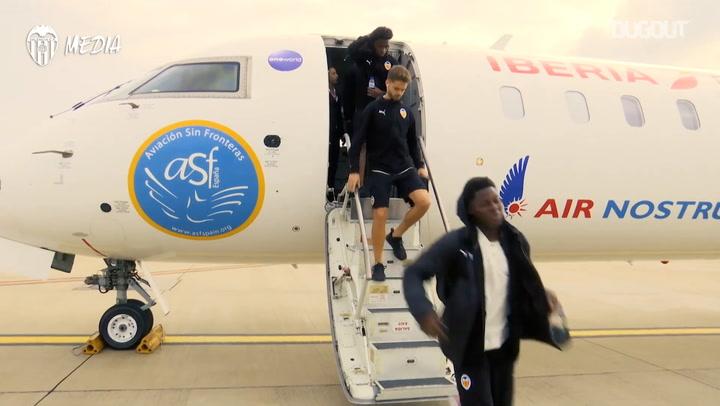 Tras las Cámaras: El Juvenil del Valencia CF, en Londres