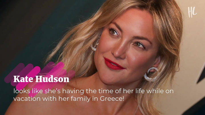 Kate Hudson, 42, Swims In String Bikini & Enjoys 'Family Time' With Kids & BF Danny Fujikawa