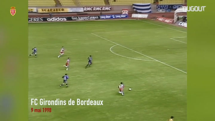 Ludovic Giuly's first goal at Monaco