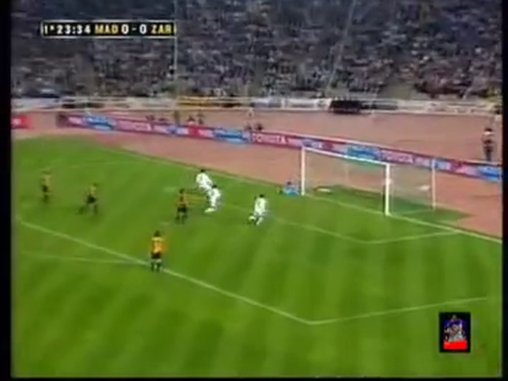 Final de la Copa del Rey 2004: Real Madrid - Zaragoza, 2-3