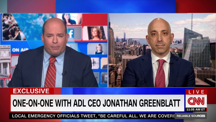 ADL CEO Greenblatt: 'Tucker Has to Go' He Is a Gateway to 'Dangerous Conspiracy Theories'