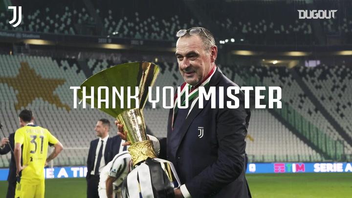 Maurizio Sarri's best Juventus moments