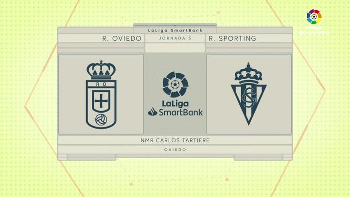 LaLiga SmartBank (J.5): Oviedo 1-0 Sporting de Gijón