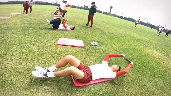 Intense Training at Campo Mar