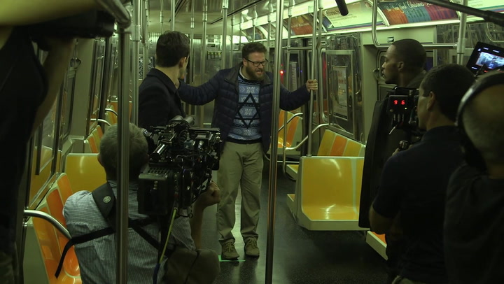 'The Night Before' Behind-the-Scenes - Exclusive Clip No. 1