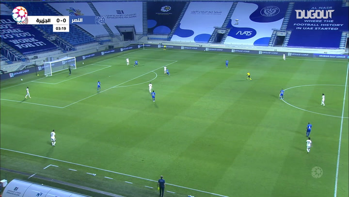 Highlights: Al-Nasr 1-1 Al-Jazira