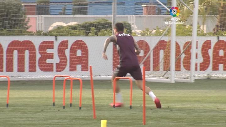 Normalidad en la segunda sesión del Villarreal