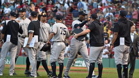 Sweeny Murti talks Yankees improbable win, Aroldis Chapman, and the trade deadline | SportsNite