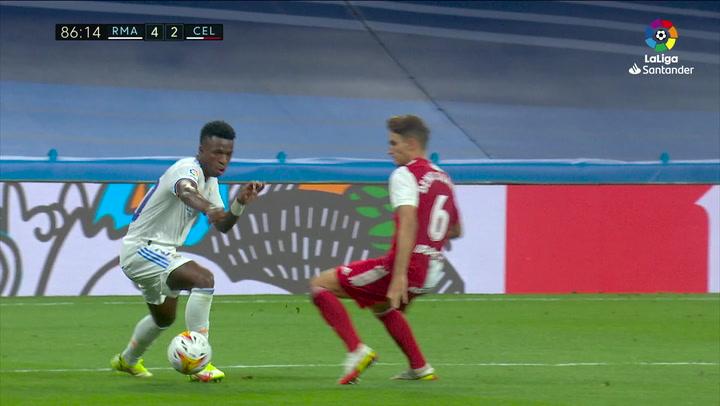 Gol de Benzema (5-2) en el Real Madrid 5-2 Celta de Vigo