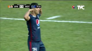 Kevin López logra el empate para Motagua ante la UPNFM en Danlí