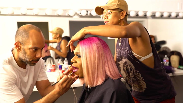 The Big Freedia Bounces Back Stylish New Season Promo Shoot: Behind the Scenes