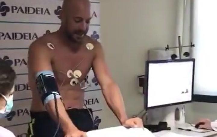 Pepe Reina pasa el reconocimiento médico con el Lazio