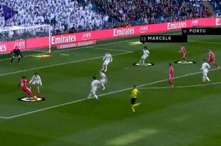 Choco Lozano, determinante en el segundo gol del Girona ante Real Madrid