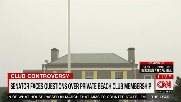 CNN: Whitehouse's Beach Club Is 'Very Evasive' and Hung Up on Us - His Office Can't Provide Proof That There Are Non-White Members