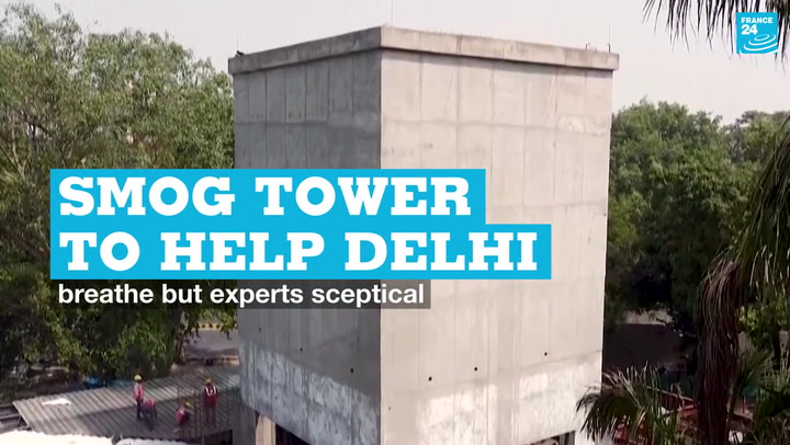 Fresh air tower to help Delhi breathe, yet experts remain skeptical