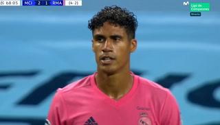 El partido más desastrozo de Varane: los dos graves errores que aprovechó el Manchester City