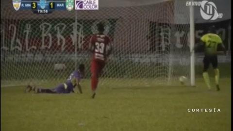Real de Minas sorprende y golea al Marathón en Siguatepeque