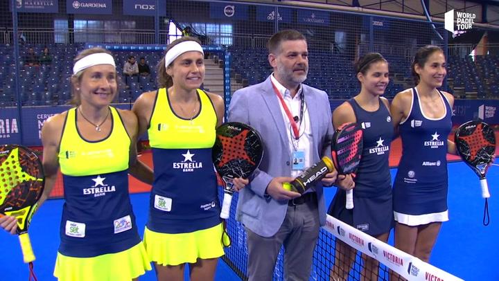Resumen cuartos de final femeninos (1º turno) - Cervezas Victoria Marbella Master.mp4