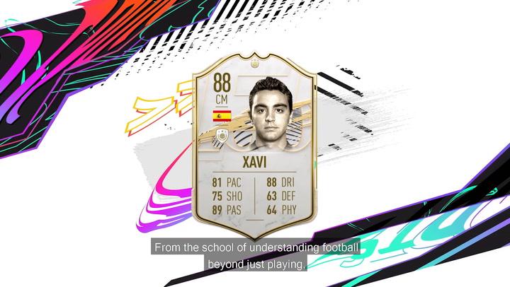 Xavi, icono del FIFA 21