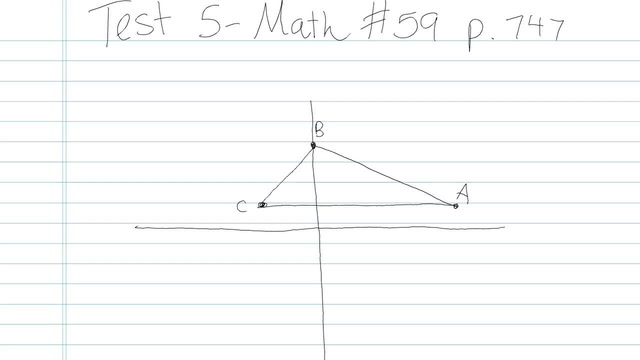 Test 5 - Math - Question 59