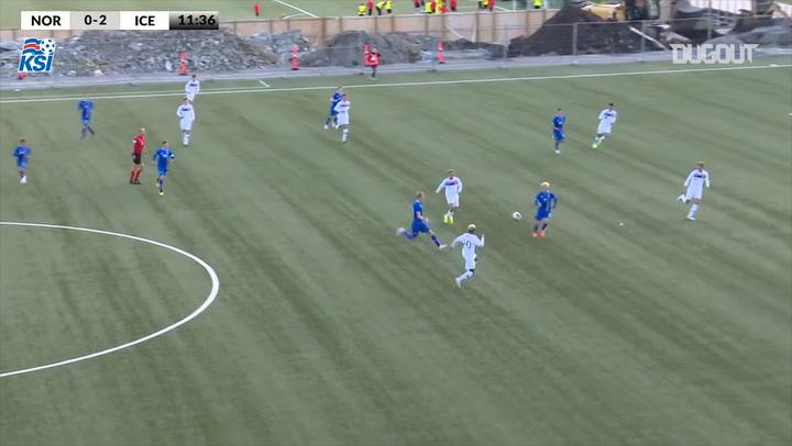 Our U16 Men's Goals Against Norway