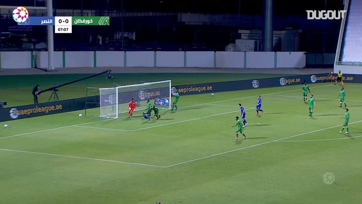Highlights: Khorfakkan 0-1 Al-Nasr