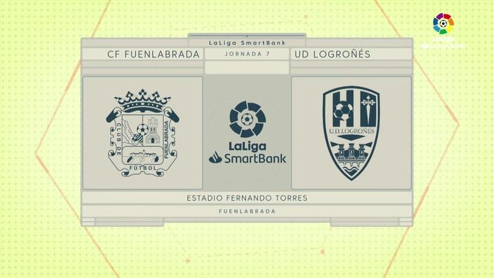 LaLiga SmartBank (J7): Fuenlabrada 0-0 Logroñés