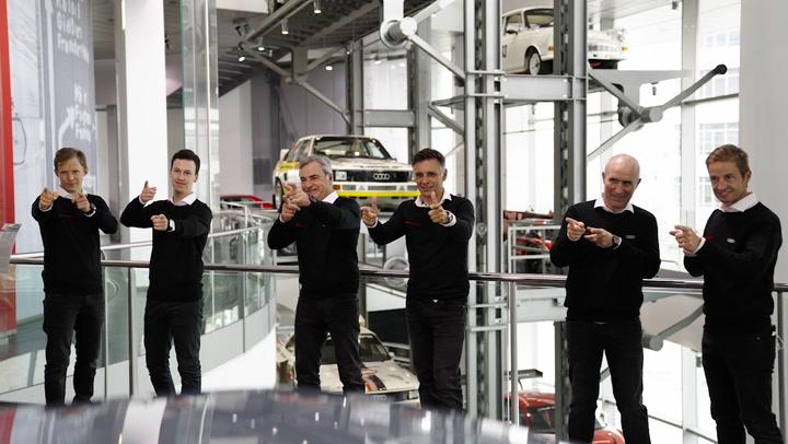 Carlos Sainz correrá el Dakar con el 'dream team' de Audi