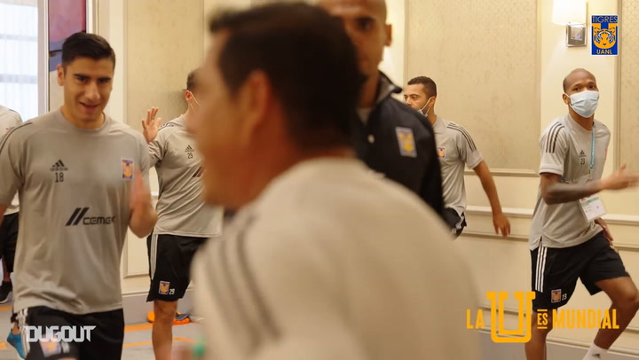 Behind the scenes: Tigres at the FIFA Club World Cup Final