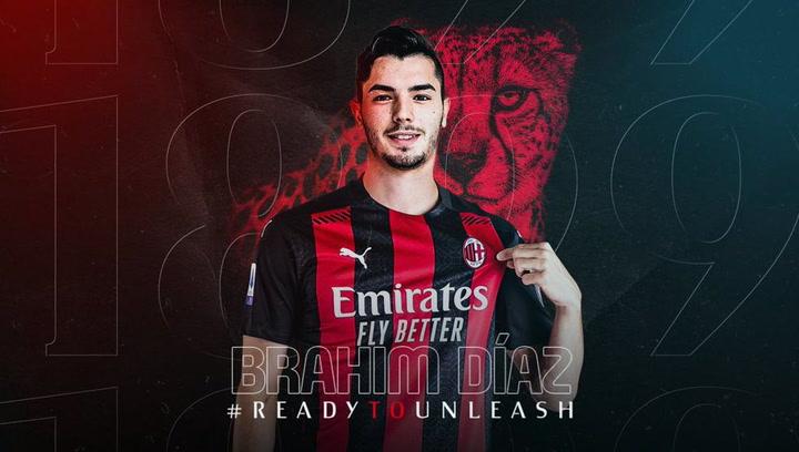 Brahim, cedido al Milán dos años