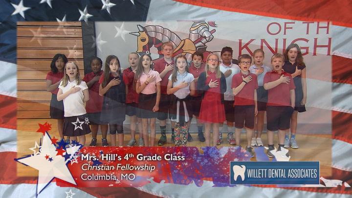 Christian Fellowship - Mrs. Hill - 4th Grade