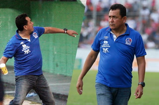 Nahún Espinoza al árbitro: