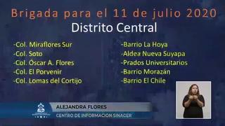 Honduras suma 46 muertos más por el coronavirus y ya acumula 27,053 contagios