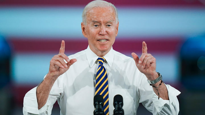 Watch live as Biden gives remarks on pace of vaccinations among Americans