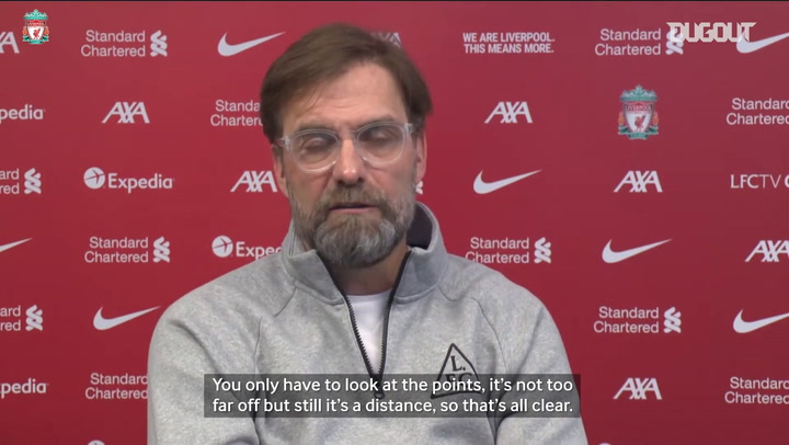 Klopp discusses top four and Chris Wilder