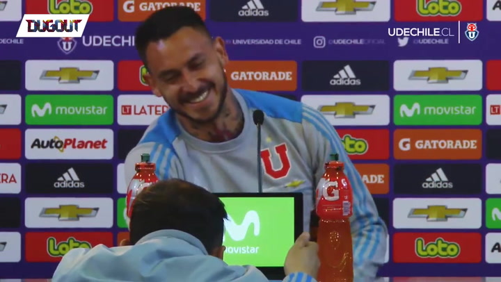Pinilla Makes A Mess In Press Conference
